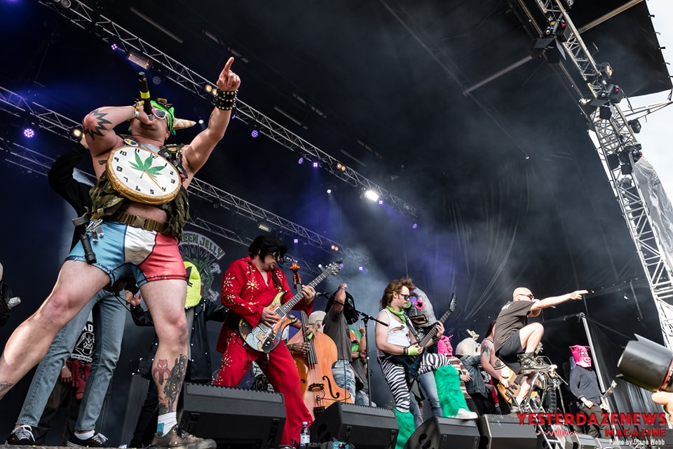 Green Jellÿ #12-Sweden Rock 2019-Diane Webb