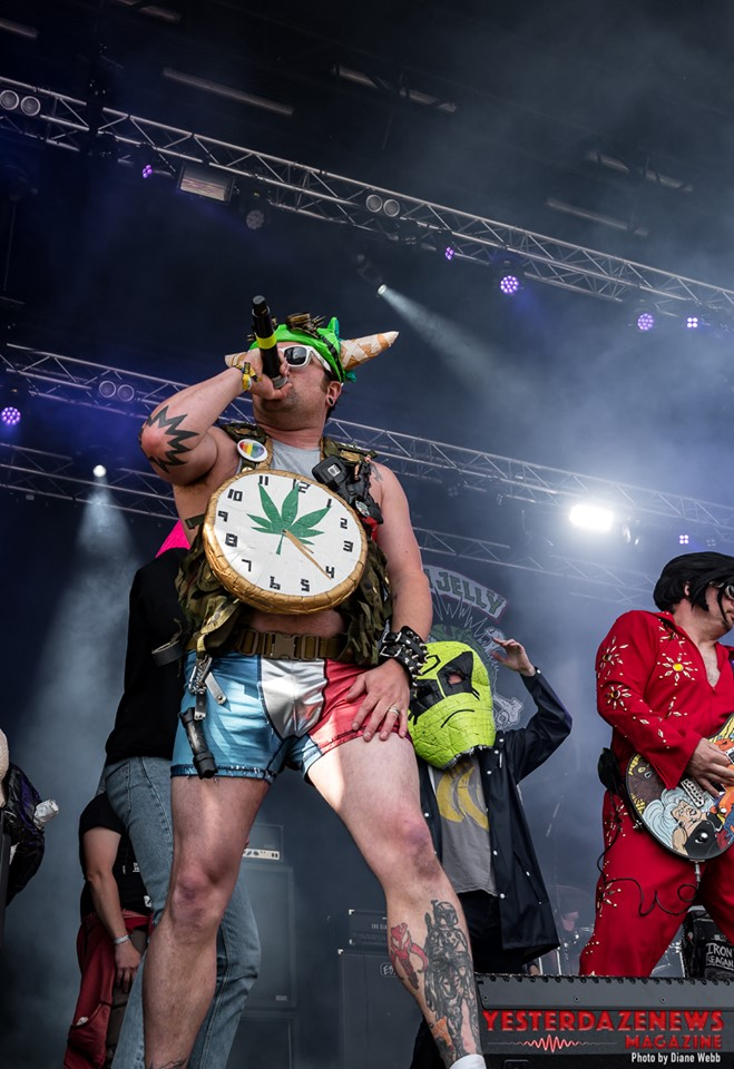 Green Jellÿ #17-Sweden Rock 2019-Diane Webb