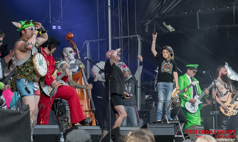 Green Jellÿ #3-Sweden Rock 2019-Diane Webb