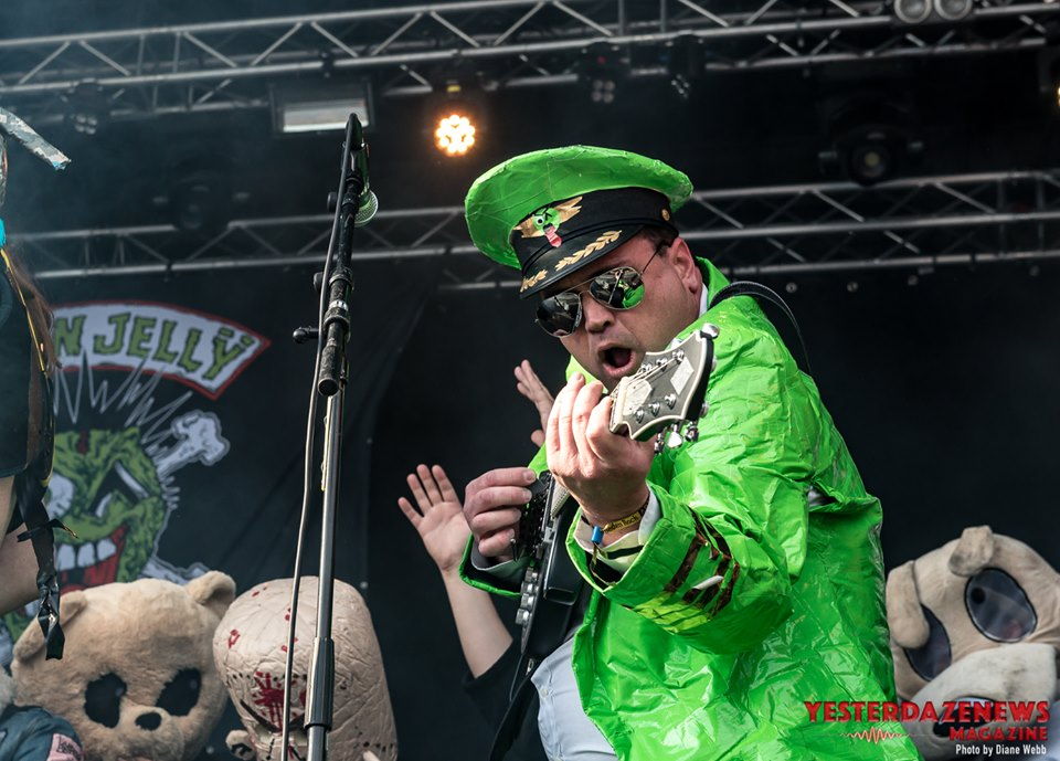 Green Jellÿ #5-Sweden Rock 2019-Diane Webb