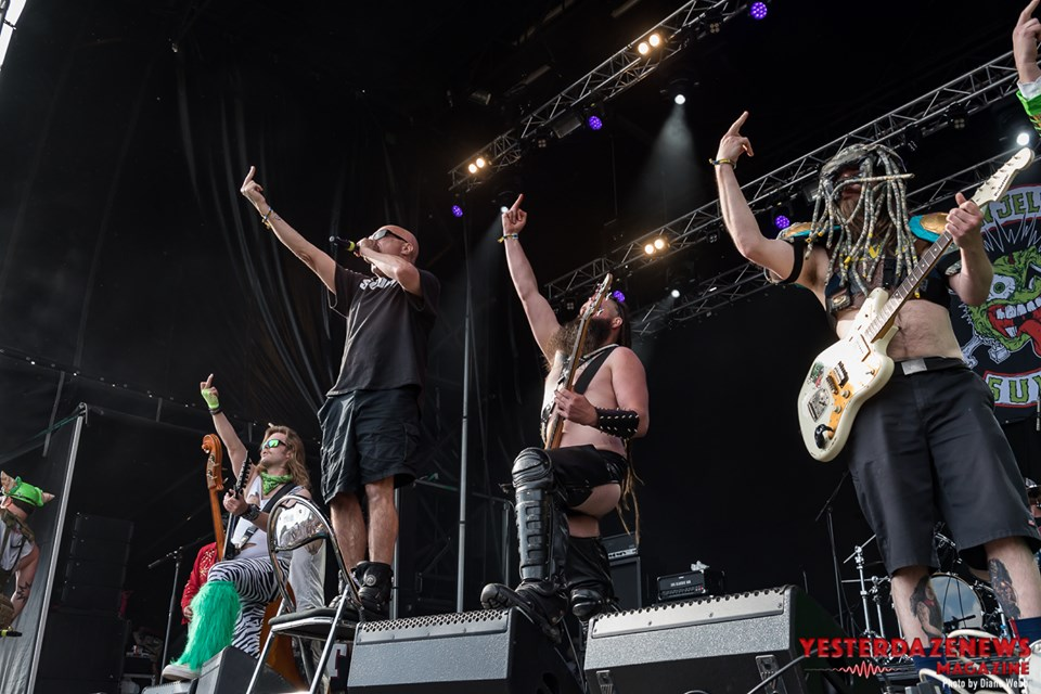 Green Jellÿ #6-Sweden Rock 2019-Diane Webb