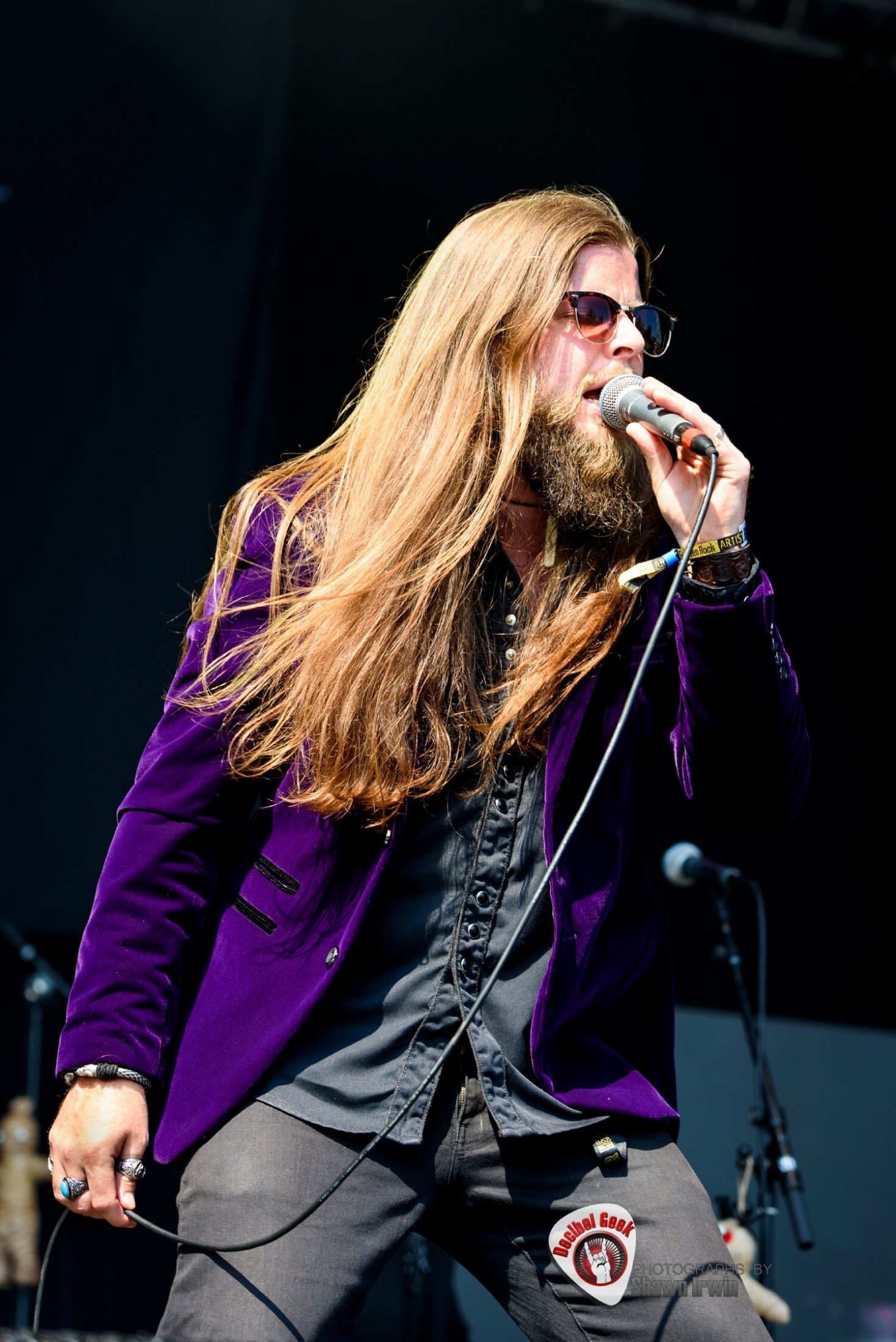 James Holkworth The Coolbenders #19-Sweden Rock 2019-Shawn Irwin