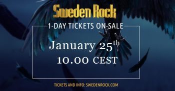 Sweden Rock 2019 - One-Day Tickets