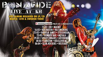 BONAFIDE - Swedish Tour