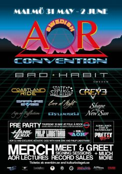 Swedish AOR Convention - April 13 Poster