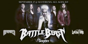 Battle Beast - Ottawa 2019