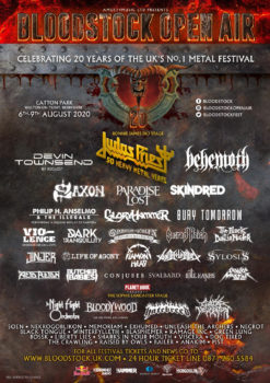 BLOODSTOCK – 6 More And A New Charity Tie-In (Festival News)