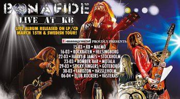 BONAFIDE - Swedish Tour